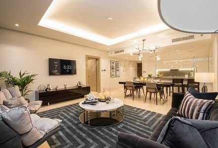 1 Bedroom Apartment for Sale in Business Bay, Dubai - Brand New Luxury 1 BR with Burj Khalifa View