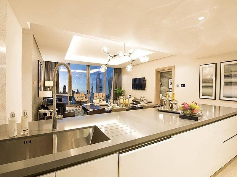 2 Brand New Luxury 1 BR with Burj Khalifa View