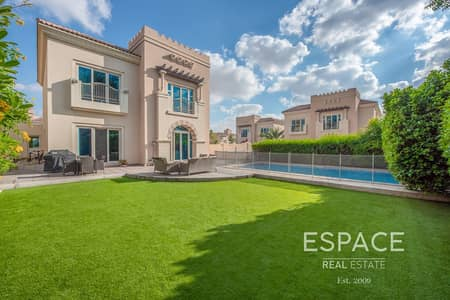 5 Bedroom Villa for Sale in Dubai Sports City, Dubai - C1 - Quiet Cul De Sac Location -Large Plot