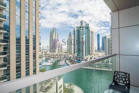 فلیٹ 2 غرفة نوم للايجار في دبي مارينا، دبي - Brand New Building / Marina View / 2BR