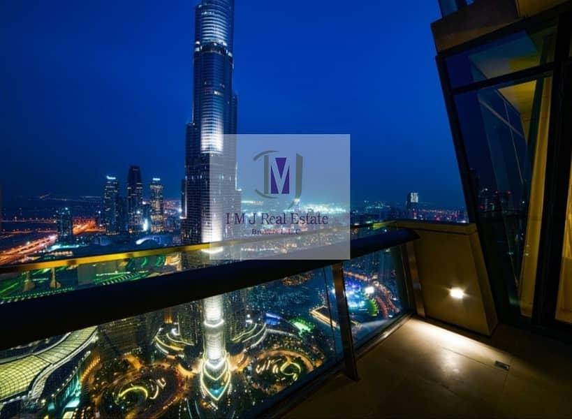 2 Full Burj Khalifa View with High Floor