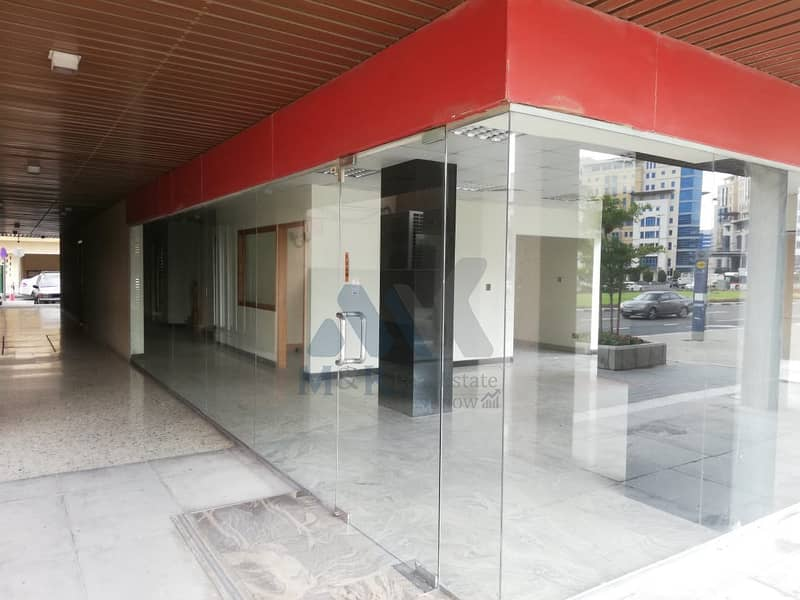 Largest Shop is available with Centralized A/C in Al Muraqqabat