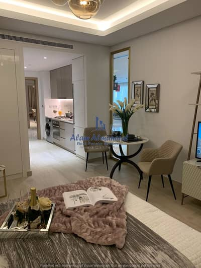 Studio for Sale in Mohammad Bin Rashid City, Dubai - Water Front Luxury Studio Apartment- 7% Guaranteed Returns- 2 Year Free Service Charges.