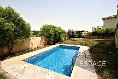 فیلا 5 غرف نوم للايجار في عقارات جميرا للجولف، دبي - Priavte Pool   Huge Plot   5BR Riviera Villa
