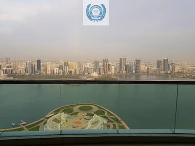 4 Bedroom Flat for Rent in Corniche Al Buhaira, Sharjah - Magnificent 4 Bedroom Apartment For Rent (Sea View)