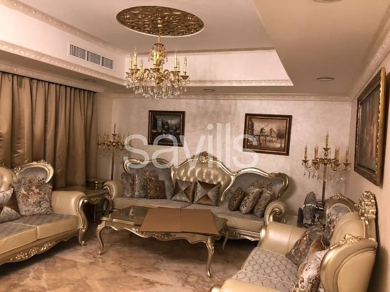 Corner fully furnished and upgraded villa