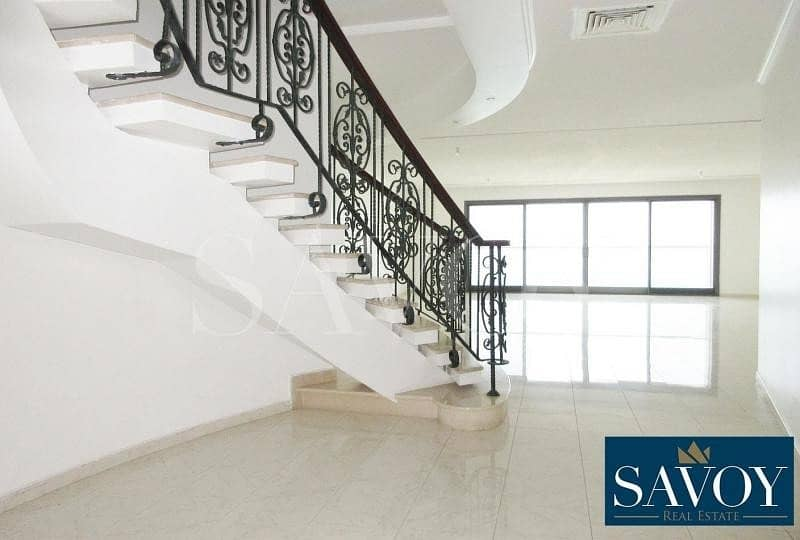 Amazing Sea View 4BR Duplex Flat For Rent        .