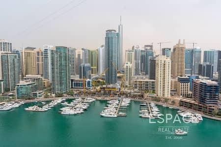 شقة 3 غرف نوم للايجار في دبي مارينا، دبي - Chiller Free | Keys with Me | Upgraded