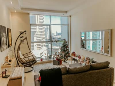 1 Bedroom Apartment for Sale in Dubai Marina, Dubai - FOR SALE 1BR In Skyview Tower Dubai Marina