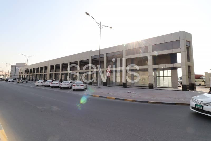 2 Brand new retail spaces | Sharjah Industrial Area 13