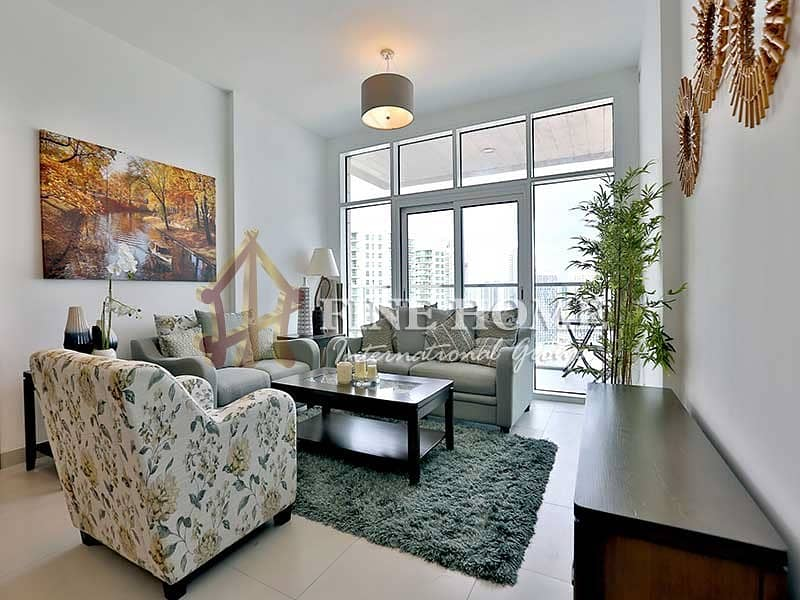 Dazzling Fully Furnished 2BR Apartment