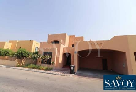 3 Bedroom Villa for Rent in Sas Al Nakhl Village, Abu Dhabi - No Commission 3BR Villa with Garden in 4 Payments