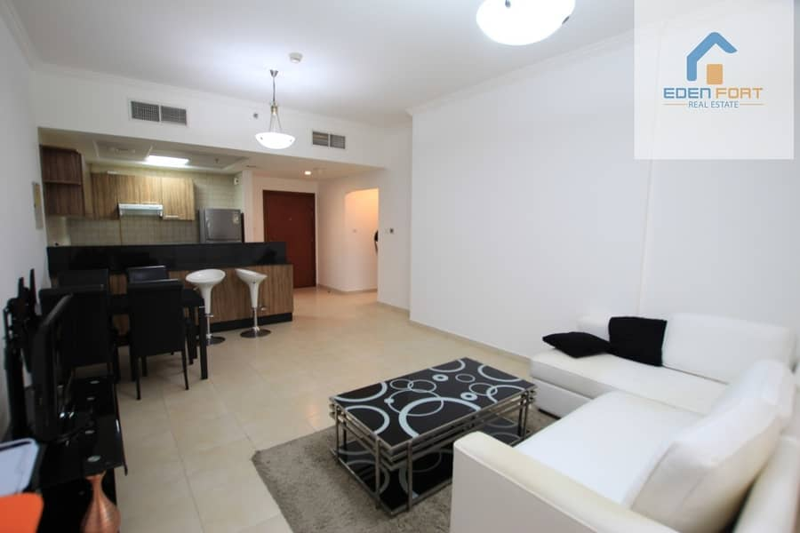 2 Beautiful Fully Furnished 1BHK for Rent in Burj Al Nujoom