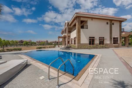 5 Bedroom Villa for Sale in Jumeirah Islands, Dubai - Best Lake View and Largest Plot Mansion