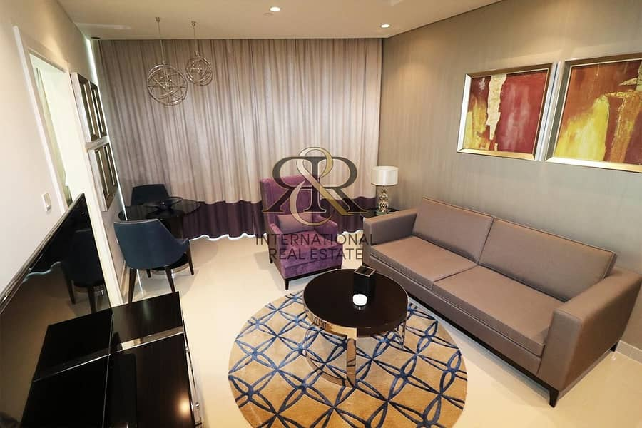 2 Fully Furnished I Immaculate I 1 Bed Apt. High Floor