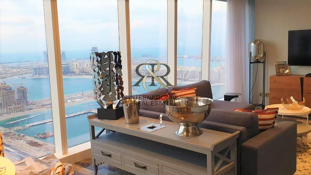 2 Luxury Unit 2 Beds Furnished Fendi in Damac Heights