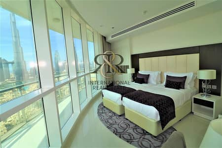 2 Bedroom Flat for Sale in Downtown Dubai, Dubai - Spacious 2BR Furnished