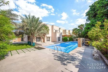 5 Bedroom Villa for Sale in The Meadows, Dubai - Exclusive | Large Corner Plot | Lake View