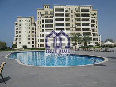 1 Bedroom Apartment for Rent in Al Hamra Village, Ras Al Khaimah - FANTASTIC 1 BEDROOM UNFURNISHED IN MARINA SEA VIEW