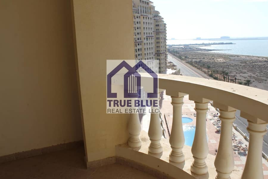 2 12 CHEQUES PAYMENT SEA VIEW STUDIO HIGH FLOOR IN ROYAL BREEZE