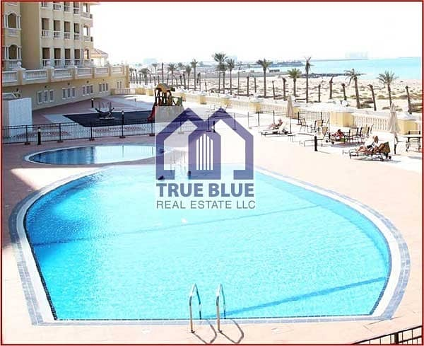 30 12 CHEQUES PAYMENT SEA VIEW STUDIO HIGH FLOOR IN ROYAL BREEZE