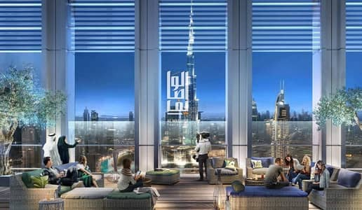 1 Bedroom Apartment for Sale in Downtown Dubai, Dubai - Theres living