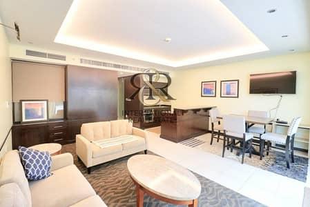 1 Bedroom Apartment for Rent in Downtown Dubai, Dubai - Burj Khalifa View | Furnished 1 Bed | Huge Balcony