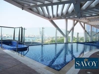 4 Bedroom Flat for Rent in Corniche Road, Abu Dhabi - Wonderful Sea View 4BR Duplex in Corniche Area