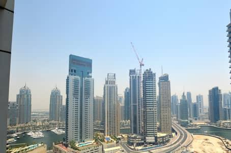 1 Bedroom Apartment for Rent in Dubai Marina, Dubai - SEA VIEW MODERN 1BR IN DUBAI MARINA!!!!