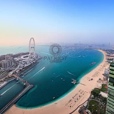 2 Bedroom Apartment for Sale in Bluewaters Island, Dubai - Sea