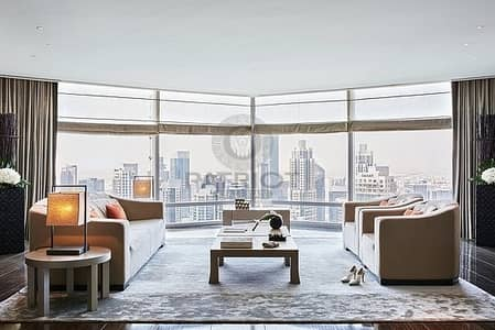 Lavish 1 bed apt in Armani Residence with dazzling view