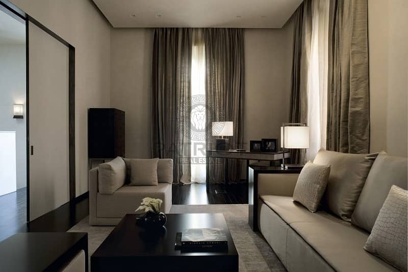 15 Lavish 1 bed apt in Armani Residence with dazzling view