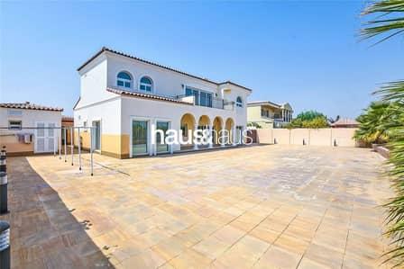 5 Bedroom Villa for Sale in Green Community, Dubai - Vacant on transfer | Large Garden | Cul De Sac