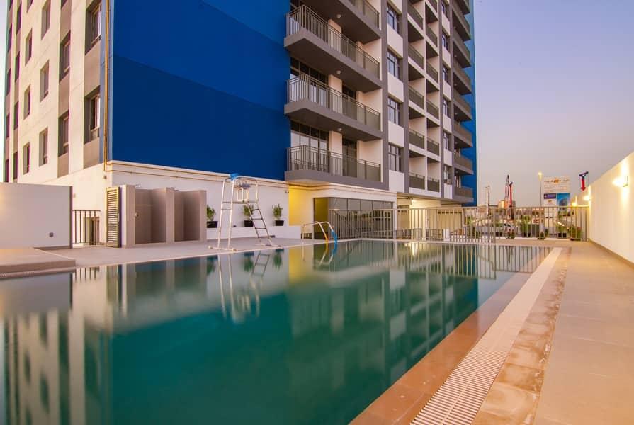 Brand New Large  2 BR -High Floor -Dubailand -Multiple Chqs