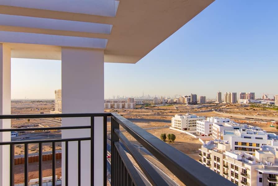 8 Brand New Large  2 BR -High Floor -Dubailand -Multiple Chqs