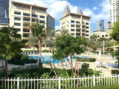 3 Bedroom Apartment for Rent in The Greens, Dubai - UPGRADED Pool View 3Bedroom + Study  Ghag Greens