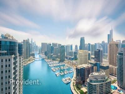 1 Bedroom Apartment for Sale in Dubai Marina, Dubai - Elegantly Finished with Full Marina View