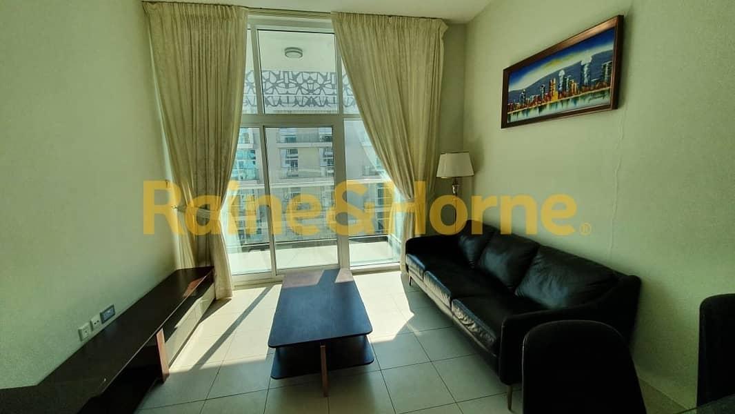 2 Furnished | 1 Bedroom | Glitz 3 | Large Balcony