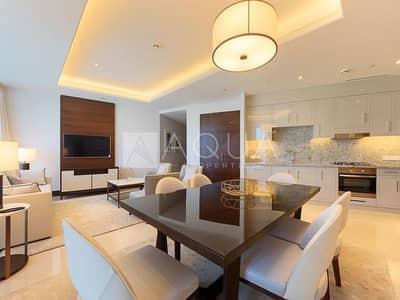شقة 2 غرفة نوم للبيع في وسط مدينة دبي، دبي - Rare Unit | Infinity Pool Level | Below OP