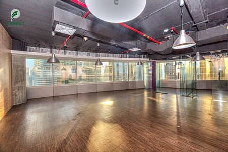 Office for Rent in Jumeirah Lake Towers (JLT), Dubai - Fully Fitted Space Office | Vacant | Lake View