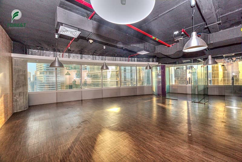 Fully Fitted Space Office | Vacant | Lake View