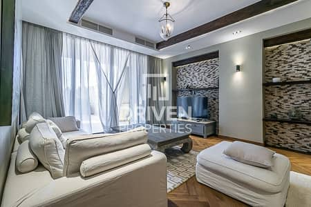 3 Bedroom Townhouse for Sale in Palm Jumeirah, Dubai - Upgraded Townhouse in Fairmount Residence