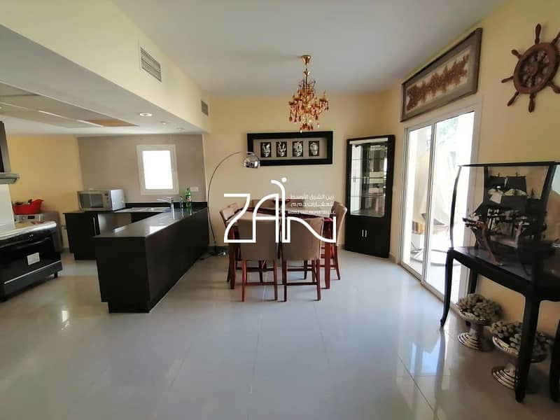 2 Fully Furnished! Single Row 4BR Villa with Garden