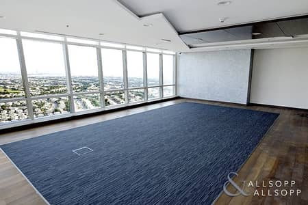 Furnished Office | High Floor | Golf View