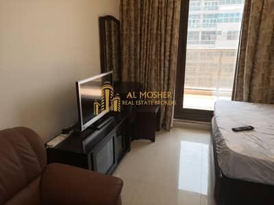 Studio for Rent in Dubai Sports City, Dubai - Fully Furnished Community View  Studio Elite 8 ( 103 )