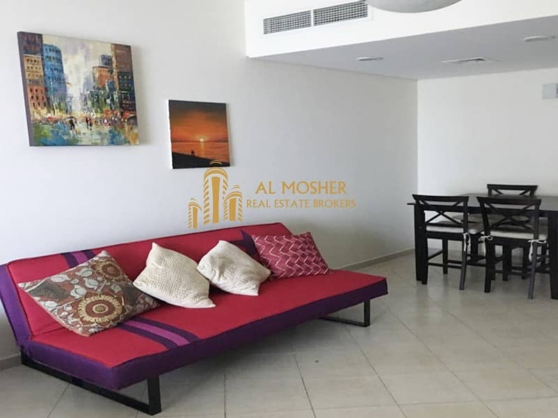 Furnished and Spacious studio for rent with parking in Impz (111)
