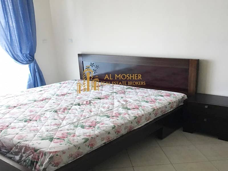 12 Furnished and Spacious studio for rent with parking in Impz (111)