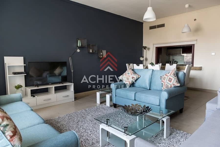 2 Cozy One Bed Apt | Beautifully Furnished
