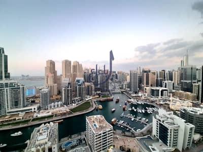 2 Bedroom Apartment for Rent in Dubai Marina, Dubai - Brand New Big Apartment With Full Marina View