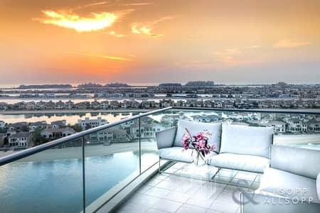 شقة 3 غرف نوم للبيع في نخلة جميرا، دبي - 3 Bedroom | Upgraded | Panoramic Sea Views
